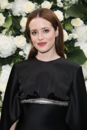 Claire Foy – British Vogue and Tiffany & Co Celebrate Fashion and Film in Leicester Square 09/20/2021