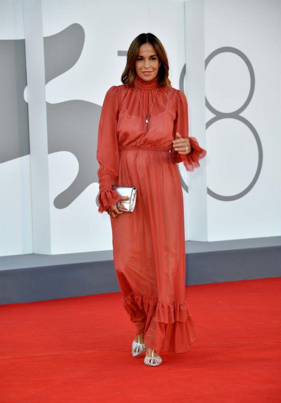 "Cristina Parodi – ""Illusions Perdues"" Red Carpet at the 78th Venice International Film Festival"