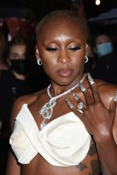 Cynthia Erivo – Celebrities Departing The Mark Hotel in NYC for the 2021 Met Gala