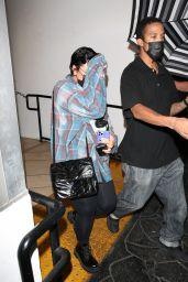 Demi Lovato at E Baldi in Beverly Hills 09/08/2021