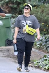 Demi Lovato - Hike in Los Angeles 09/21/2021