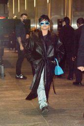 Demi Lovato - Nobu 57 in New York 09/29/2021