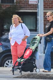 Diane Kruger and Her Mother - Out in New York City 09/21/2021