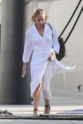 """Diane Kruger - """"Out of the Blue"""" Set in Newport 09/17/2021"""