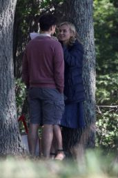"""Diane Kruger - """"Out of the Blue"""" Set in Providence, Rhode Island 09/10/2021"""
