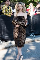 Dove Cameron - Arrives to Michael Kors Fashion Show at NYFW 09/10/2021