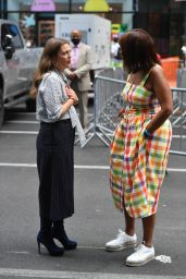 Drew Barrymore and Gayle King - Out in New York 08/31/2021