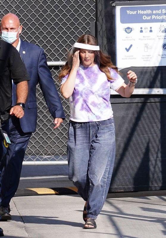 Drew Barrymore - El Capitan Entertainment Centre in Hollywood 09/08/2021