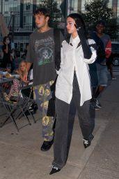 Dua Lipa and Anwar Hadid - Out in New York City 09/20/2021