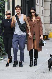 Dua Lipa, Anwar Hadid and Yolanda Hadid - Out in New York 09/21/2021