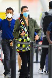 Dua Lipa - Arriving at JFK Airport in New York 09/18/2021