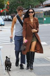Dua Lipa Street Style - New York City 09/21/2021