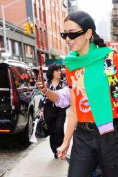 Dua Lipa Street Style - New York City 09/22/2021