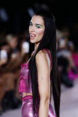 Dua Lipa - Versace Fashion Show at Milan Fashion Week 09/25/2021