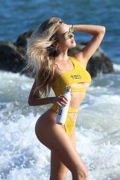 Elena Jole Wearing 138 Yellow Bikini - Photoshoot in Malibu 09/27/2021