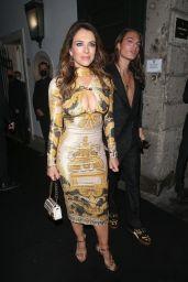 Elizabeth Hurley - Versace/Fendi Private Party in Milan 09/26/2021