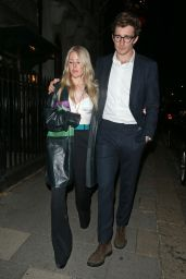 Ellie Goulding Night Out Style - Annabels in London 09/21/2021