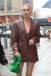 Elsa Hosk – Arrives at the Revolve Gallery in New York 09/09/2021