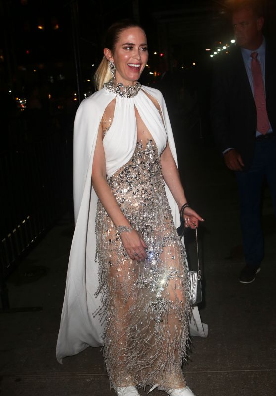 Emily Blunt – Met Gala After Party in NYC 09/13/2021