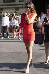 Emily Ratajkowski – DUNDAS x REVOLVE NYFW Runway Show at Casa Cipriani in NYC 09/08/2021