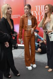 Emma Brooks and Olivia Ponton - Arrives at the Revolve Event in NYC 09/09/2021