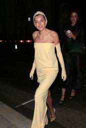 "Emma Corrin - ""The Crown"" 73rd Primetime Emmys Celebration in London 09/19/2021"