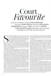 Emma Raducanu - Vogue UK October 2021 Issue