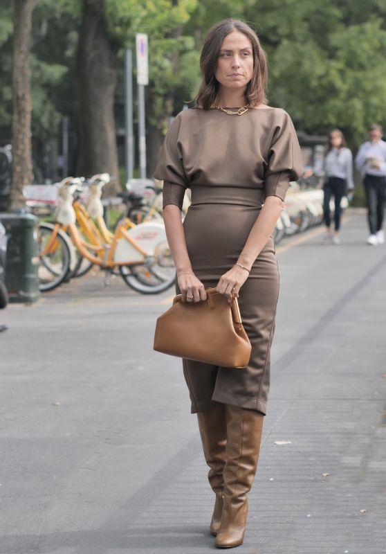 Erika Boldrin – Fendi Show at Milan Fashion Week 09/22/2021