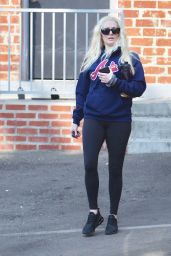 Erika Jayne in Workout Ready Outfit - Beverly Hills 09/20/2021