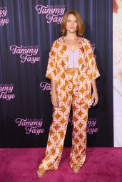 """Erin Richards - """"The Eyes of Tammy Faye"""" Premiere in NYC 09/14/2021"""