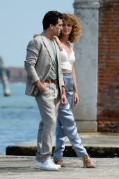 Esther Acebo and Jaime Lorente - Out in Venice 09/05/2021