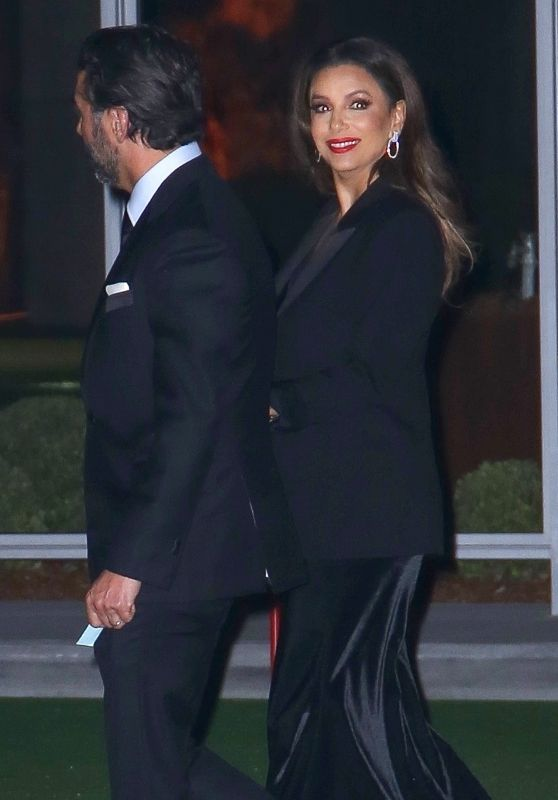 Eva Longoria – Leaving the Academy Museum of Motion Pictures Opening Gala in LA 09/25/2021