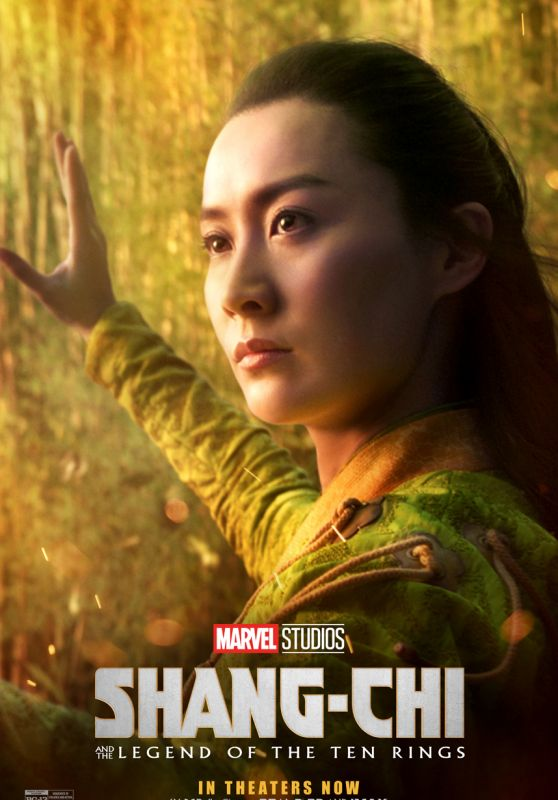 """Fala Chen - """"Shang-Chi and the Legend of the Ten Rings"""" Poster"""