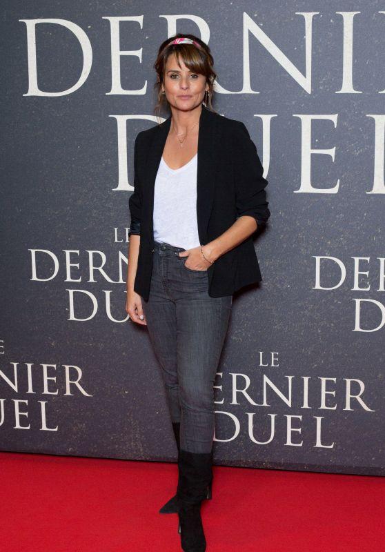 "Faustine Bollaert – ""The Last Duel"" Premiere in Paris"