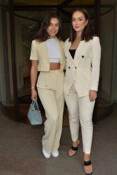 Francesca Allen and Sharon Gaffka - WOTC Magazine London Fashion Week Event 09/18/2021