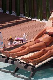Frankie Sandford in a Bikini - Ibiza 07/19/2021