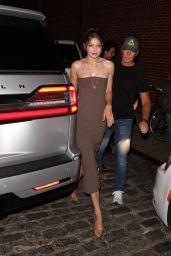 Gigi Hadid - Fashion Week in New York City 09/08/2021