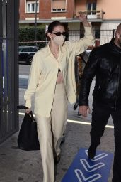 Gigi Hadid Looks Stylish - Milan 09/22/2021