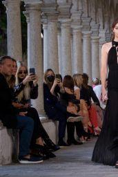 Gigi Hadid - Walking for Alberta Ferretti SS22 in Milan 09/22/2021