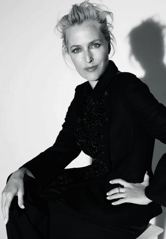 Gillian Anderson - Hunger Magazine Taking Back Control Issue 2021