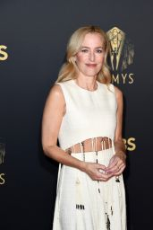 """Gillian Anderson - """"The Crown"""" 73rd Primetime Emmys Celebration in London 09/19/2021"""