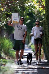 Hailey Clauson and Julian Herrera - Venice 09/03/2021
