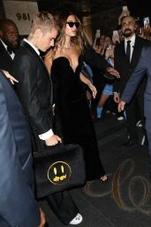 Hailey Rhode Bieber and Justin Bieber – Heading to a Met Gala After Party in NYC 09/13/2021