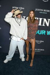 Hailey Rhode Bieber and Justin Bieber - JUSTIN BIEBER, OUR WORLD Special Screening Event in NY 09/14/2021