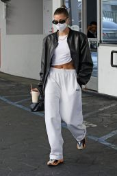 Hailey Rhode Bieber - Out in Beverly Hills 09/02/2021