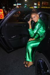Haley Kalil - Arrives at the Pretty Little Thing Fashion Show in NYC 09/09/2021