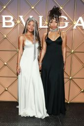 Halle Bailey and Chloe Bailey - Bulgari B.Zero1 at New York Fashion Week 09/08/2021