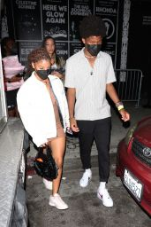 Halle Bailey and Chloe Bailey - Leaving Catch One in Los Angeles 09/18/2021