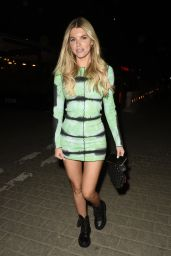 Hayley Hughes Night Out Style - Zouk Tea Bar and Grill in Manchester 09/15/2021