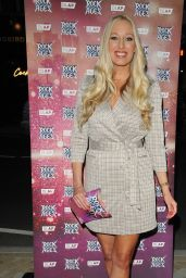 """Hayley Palmer - """"Rock Of Ages"""" First Night VIP Performance in London 09/21/2021"""